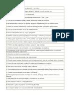 Cuestionario Honey Alonso de Estilos de Aprendizaje en Excel