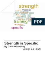 Chris Beardsley - Strength is Specific v2