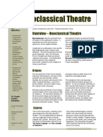 Neoclassical Theater