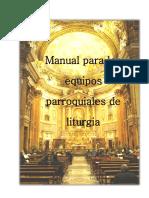 Manual para los equipos parroquiales de Liturgia.pdf