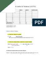 Analise de Variancia (1)