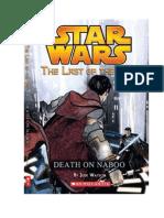 Muerte en Naboo