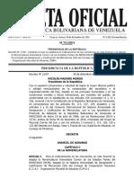 Gaceta-Oficial-Extraordinaria-N 6281- 30 Dic 2016- USAR ESTE