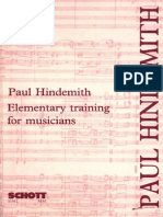 HINDERMITH, Paul. Elementary Training For Musicians.pdf