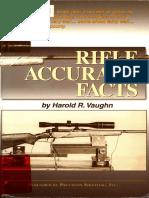 Rifle Accuracy Facts - Harold R. Vaughn