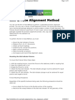 Rim & Face Alignment Method