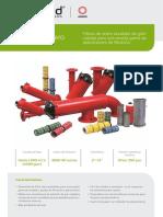 Steel Filters - Spanish