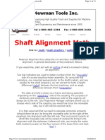 Math for Peterson Shaft Alignment
