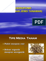 Media Dan Jenis Tanaman Hidroponik (1) - Copy