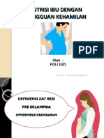 Nutrisi Utk Komplikasi Kehamilan