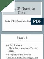Stage 35 Grammar Powerpoint