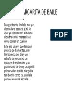 A Margarita de Baile