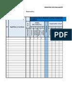 Registro de Evaluación Por Competencias Matemáticas