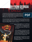 The Man From Georgia Interview With Michael A Simpson by Phillip Escott