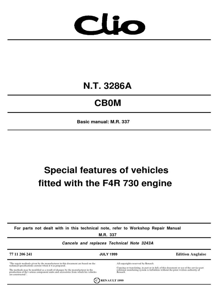 F4R_730 pdf | Nut (Hardware) | Transmission (Mechanics)