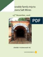 Khewra Salt Mine Trip