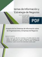 Sistemas de Información y Estrategia de Negocios