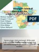 Perkembangan Islam Di Benua Afrika