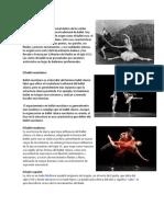 Tipos de Ballet
