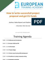EUTA Training