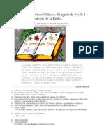 BIBLIA-LA EXEGESIS Y LOS METODOS HISTOPRICOS CRITICOS.docx
