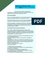 Normas Reguladoras de Mineração