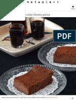 Tarta de Queso y Chocolate