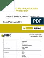 Informe Convocatorias 7 de Mayo de 2014 f