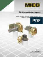 84460006Air Hydraulic Actuators