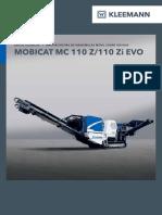 Datasheet Kleemann MC110Z EVO Sp