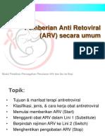 Pemberian ARV Secara Umum (HAART)
