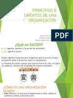 Principios e Instrumentos de Una Organización