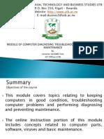 Diagnosing Troubleshooting Prventing Maintenance
