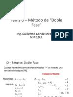 Metodo de la Doble Fase