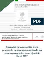 Guia Reprogramacion PFCE 2017
