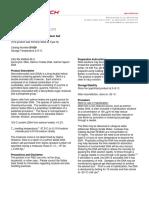 Deoxyribonucleic Acid (DNA), Sodium Salt (D1626) - Product Information Sheet
