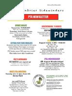 september pta newsletter