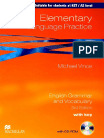 Elementary Language Practice 3rd Edition by Michael Vince 2010