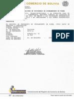 Fundempresa Certificado de Registro de Testimonio de Otorgamiento de Poder Cafe Al Paso
