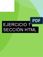 Ejercicio HTML 01