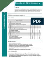 tecnico superior en admon. y finanzas