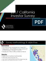 2017 Investor Survey