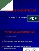 6a Aula - Tecnicas Apometricas - 1a parte.ppt