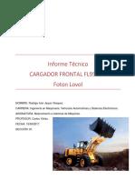 Cargador Frontal Fl956-II español