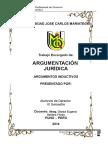 Moonografia de Argumentación Juridica