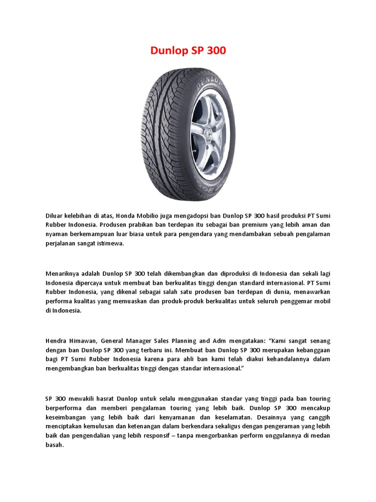 Harga Jual Ban Dunlop Terbaru Review Sp10 185 65 R15 Geomax Mx3s Rr 100 18 Tt Motor Mobil Spesifikasi Spek Dr2 700 R16 14pr Truk Daftar 2016