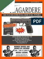 Catalogue 2017  Lagardaire Fierarms