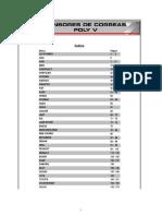 RSF Catalogo Tensores Poli V