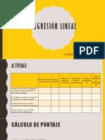 Clase de Regresión Lineal Simple por la prof. Pamela Nuñez Del Prado (PUCP