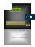 1.Analisis Financiero y Productos